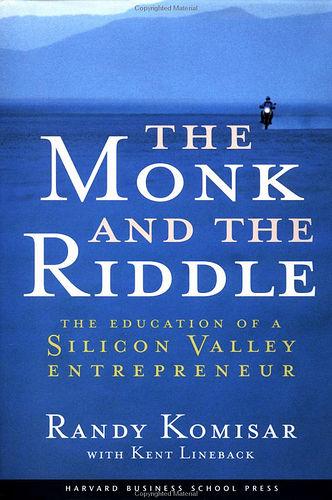 The Monk and the Riddle Book                           Cover