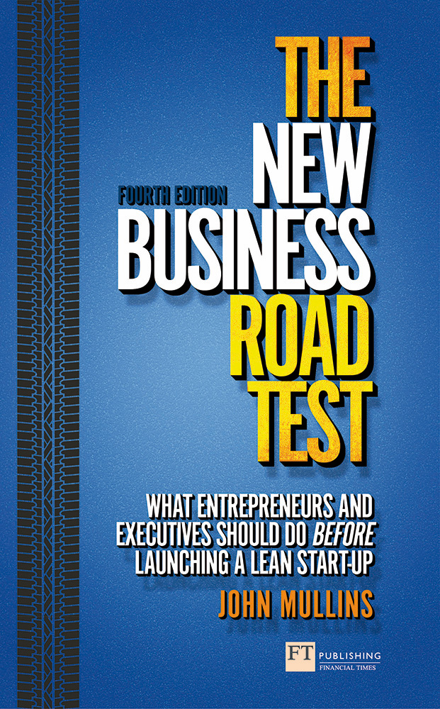 The New Business Road Test Book                         Cover